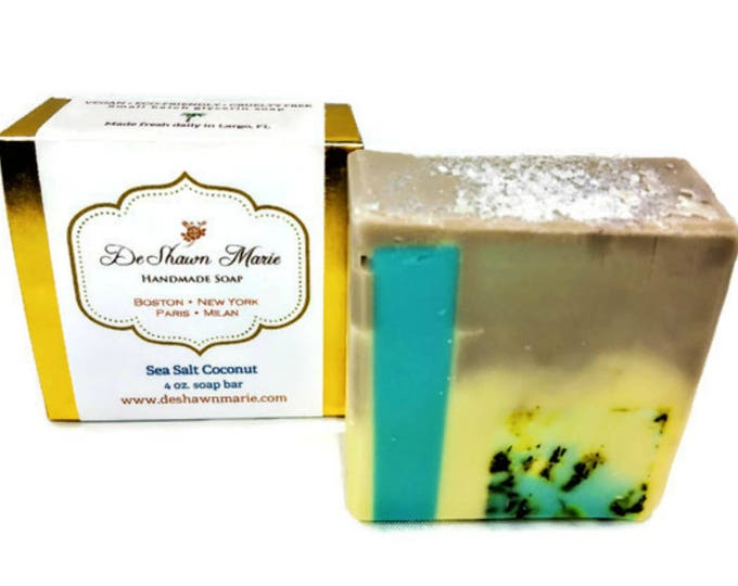 Sea Salt Coconut Soap