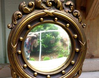 Vintage Eagle Convex Mirror