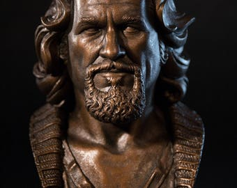 The Dude (The Big Lebowski) bust - 1/2 scale