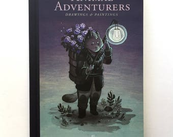 UPDATED Animal Adventurers Book - Collection of drawings and paintings by Nicole Gustafsson