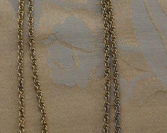 "AVON Bicentennial Coin 1776-1976 Necklace, Gold tone, 30"", Vintage (TB182)"