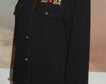 Carole Little RUSSIAN Military Shirt