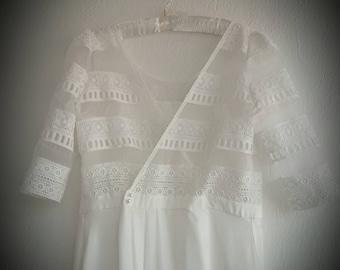 Laure de Sagazan Perec Inspired Wedding Dress