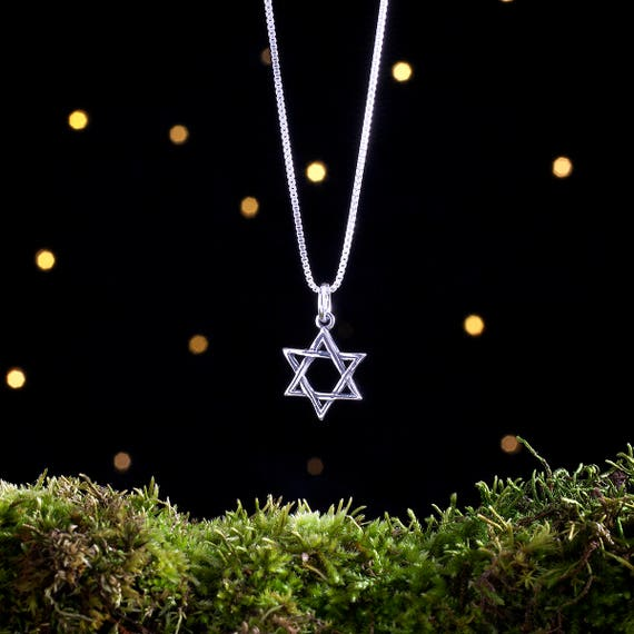 Sterling Silver Star of David - (Charm, Necklace, or Earrings)