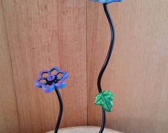 spigot handle flowers