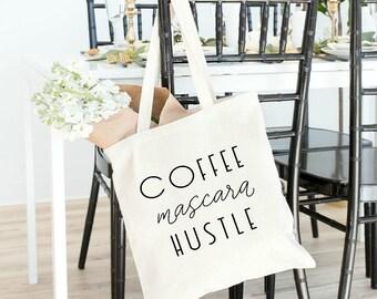 cute tote bag, tote bag, tote bag for women, tote bag for bridesmaid, entrepreneur gift, gift for her, boss babe, boss lady, goal digger,