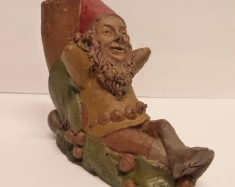 Vintage Cairn Studio Tom Clark Gnome Saturday  and Re-Signed