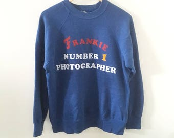 1980's Frankie Photographer Pullover
