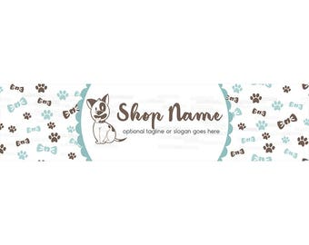 Etsy Cover Photo - Etsy Shop Covers - Puppy Etsy Shop Cover -  Puppy Etsy Shop Cover Photo - Dog Etsy Shop Cover - Puppy Dog 2