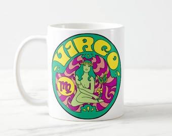 Virgo Birthday Gift... Virgo... Zodiac Gift... Virgo Gift... Astrology Gift... Coworker Gift... Co Worker Gift... Birthday Mug