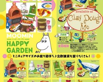 AUG 2017 Re-ment Moomin Happy Garden/ Rement Happy Garden/ Re-ment Miniatures Moomin Happy Garden / Re-ment Moomin