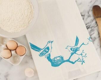 Mockingbird Tea Towel