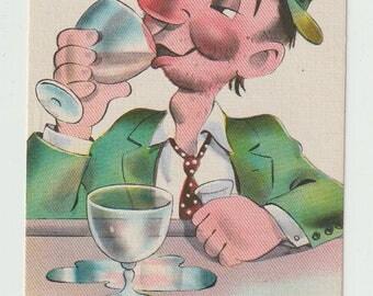 Humorous Postcard - Collectible Postcard - Unused Postcard - Circa 1930 - Deltiology