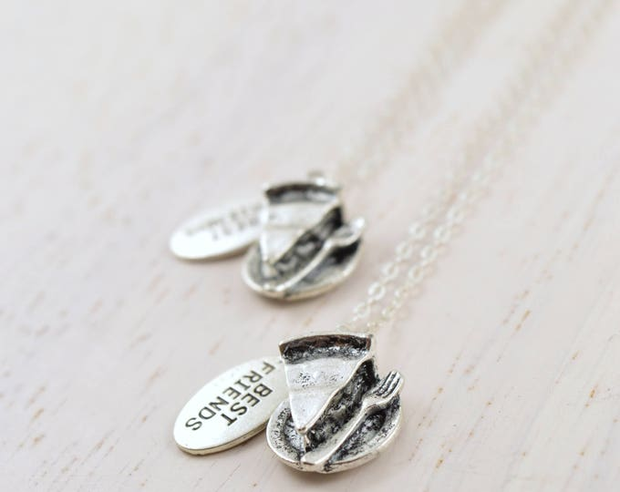 Pie Best Friends Necklaces