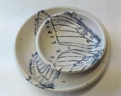 Lithographed Butterfly Wing Plates