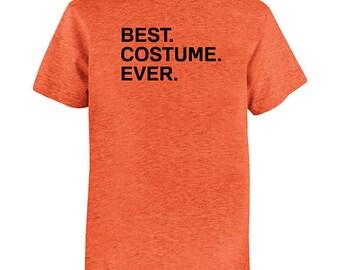 Best Costume Ever Halloween Costume T shirt - - Kids Shirt - Youth Girl Shirt / Boy Shirt / Super Soft Simple Costume - Trick or Treat