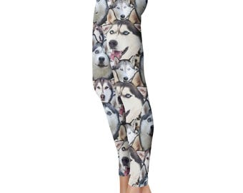 Husky Leggings, Capris or Yoga Pants