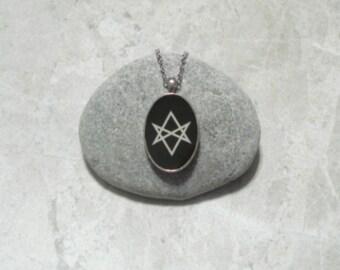 Unicursal Hexagram Necklace Pendant Jewelry