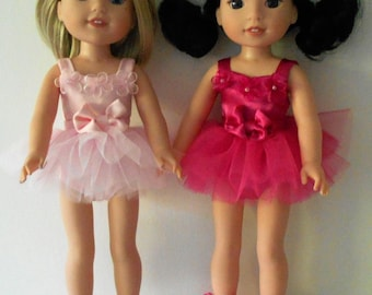 """Ballet outfit fits 14 1/2"""" dolls like Wellie Wishers"""