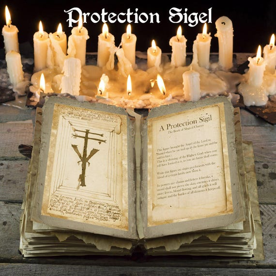 A Protection Sigil, Ancient Spell
