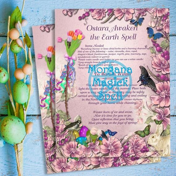 Ostara Awaken the Earth Spell