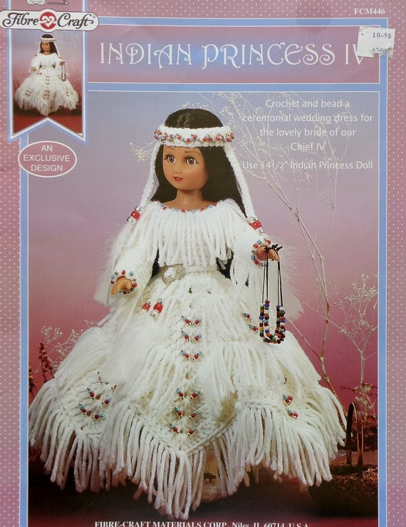 Fibre Craft Indian Princess Iv 15 Fashion Doll Indian Doll