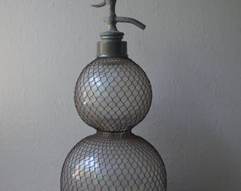 Huge Antique Seltzer Bottle