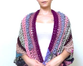 The Ugly Shrug: Pink and Purple Shrugly