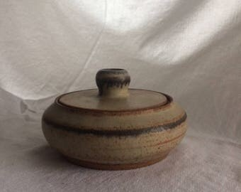 Vintage Stonewar Bowl with Lid