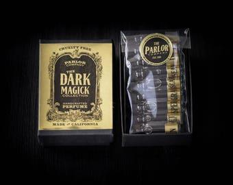 Dark Magick Collection Perfume Set - The Parlor Apothecary - 1 ml each