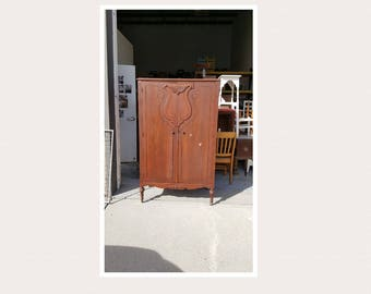 Awesome Vintage Wardrobe, Closet, Armoire PICK UP ONLY, Painting Inc., Farmhouse,