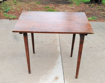 Antique Drafting Table - Folding Drafting Table - Wooden Drafting Table - Artist Table - Engineer Table