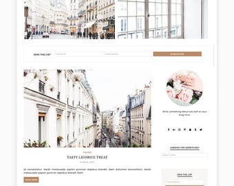 "Wordpress Theme, Wordpress Ecommerce Theme Responsive Blog Theme Design ""Cashmere"" - Genesis Website Theme"