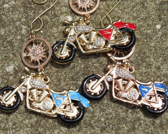 MOTORCYCLE BLING Tree Jewelry Ornament