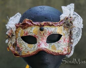 Victorian Mask, Cosplay Mask, Mardi Gras Mask, Steampunk Mask, Flower Mask,Halloween Mask,Fairy Mask,Lace Mask,Masquerade Mask,Venetian Mask