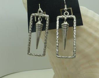 Silver Pierced Earrings