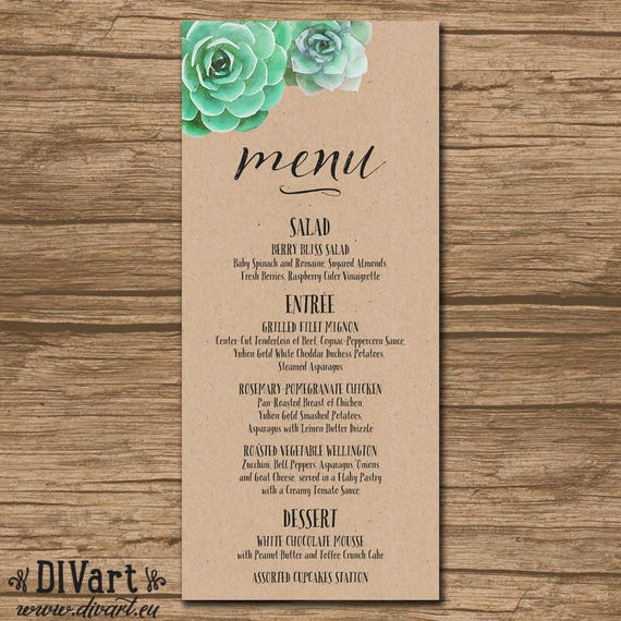 Wedding Menu Rehearsal Dinner Menu Reception Menu: Wedding Menu Rehearsal Dinner Menu Reception Menu