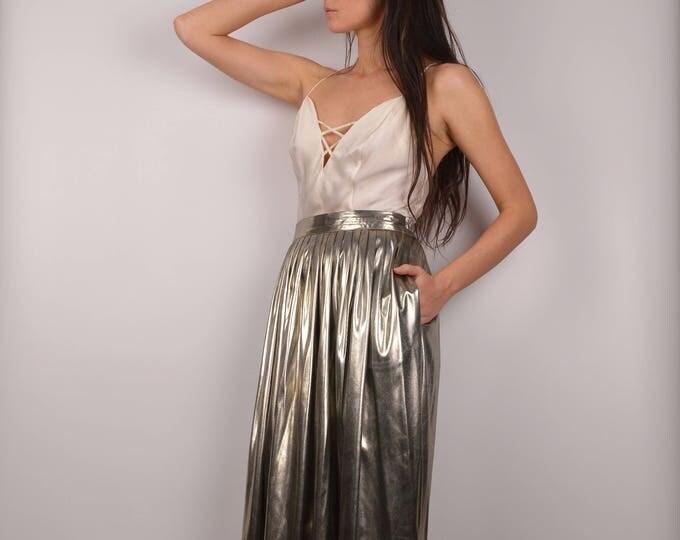 Vintage La'me Circle Skirt