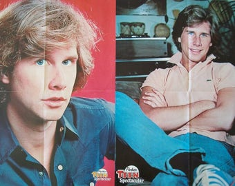 PARKER STEVENSON ~ The Hardy Boys, Falcon Crest, Baywatch, Frank Hardy ~ Color Posters from 1978