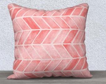 Blush Throw Pillow, Blush Arrow Print, Blush Lumbar Pillow, Blush Pillowcover, Blush Accent Pillow, Blush Nursery Pillow, Pink Tribal Pillow