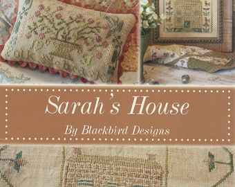 KIT - Sarah's House by Blackbird Designs - Loose Feathers Summer 2012 - OOP Kitted Cross Stitch Pattern