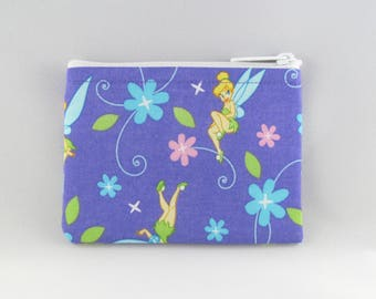 The Fairy Tinkerbell Coin Purse - Coin Bag - Pouch - Accessory - Gift Card Holder
