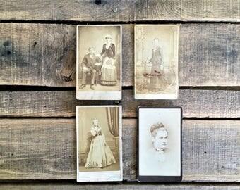 Antique Photographs - Lot of Four