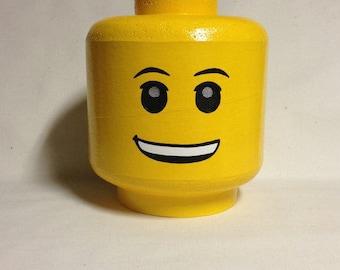 Custom LEGO inspired costume head A