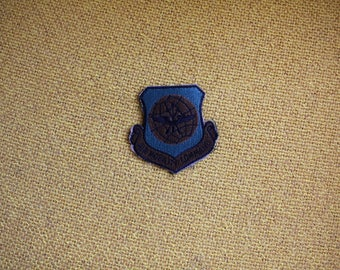 Vintage Air Mobility Command Embroidered Patch. 70s or 80s Rare Air Force Patch. Army Green Air Mobility Command Military Patch