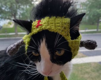 Frankenstein Cat Hat