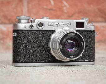FED-2 35mm Rangefinder Camera