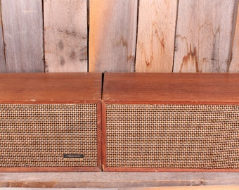 Vintage Realistic Solo 4 Stereo Speakers 8 OHM