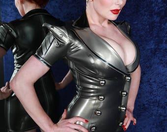 Military Latex Dress