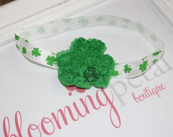 Shamrock St Patrick's Day Infant/Toddler Headband